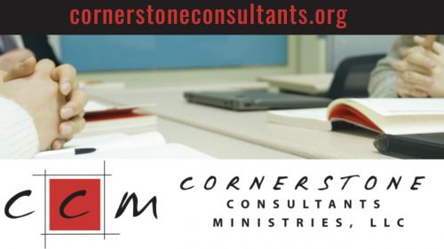 Cornerstone Consultants Ministries, LLC